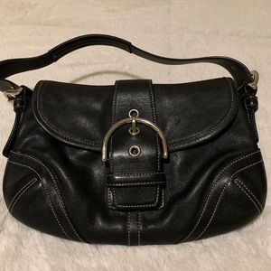 Coach leather hobo purse
